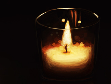 Glass_candle_study_by_darksilverflame-d5cmi2ha